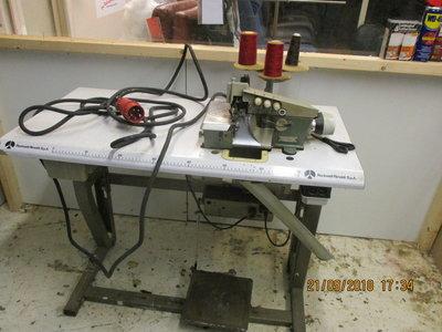 lockmachine 380 volt werkt prima